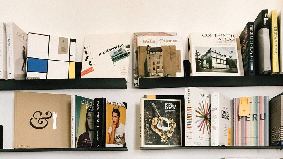 assorted title books collection